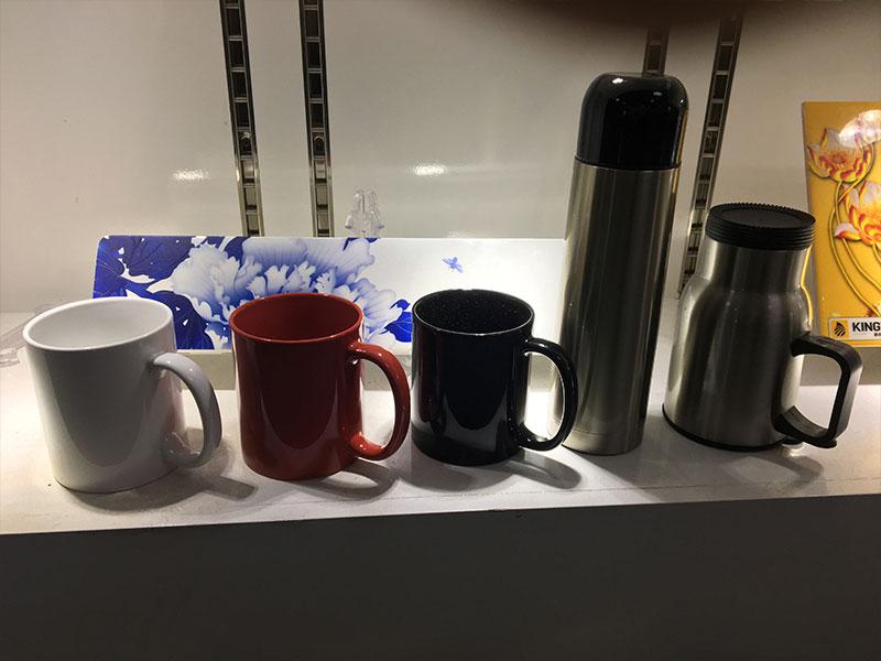 Impresora UV KINGT Impresión en taza