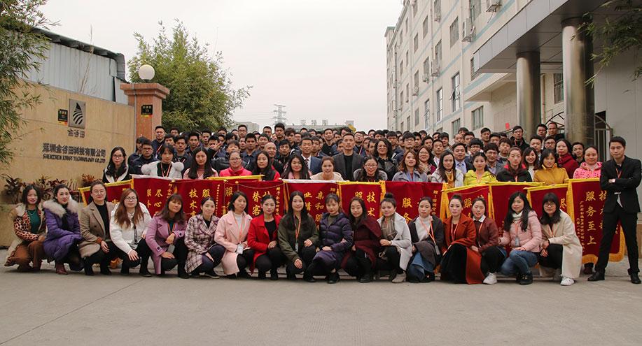 Objetivos: alcanzar un volumen de ventas de 200 millones de RMB